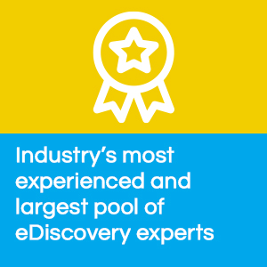 eDiscovery experts